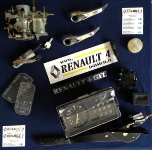 Ricambi usati Renault 4