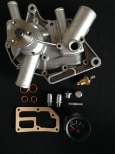 kit manometro pompa acqua renault r4