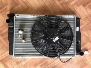 Kit Radiatore + Ventola + Termostato 83° + Interruttore 87°-82°
